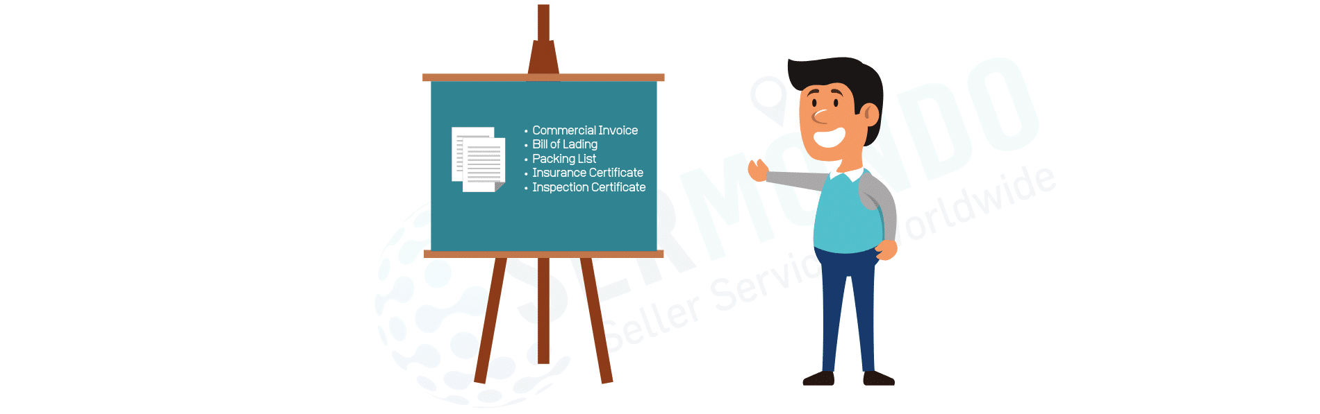 Freight Forwarder explains what documents are needed