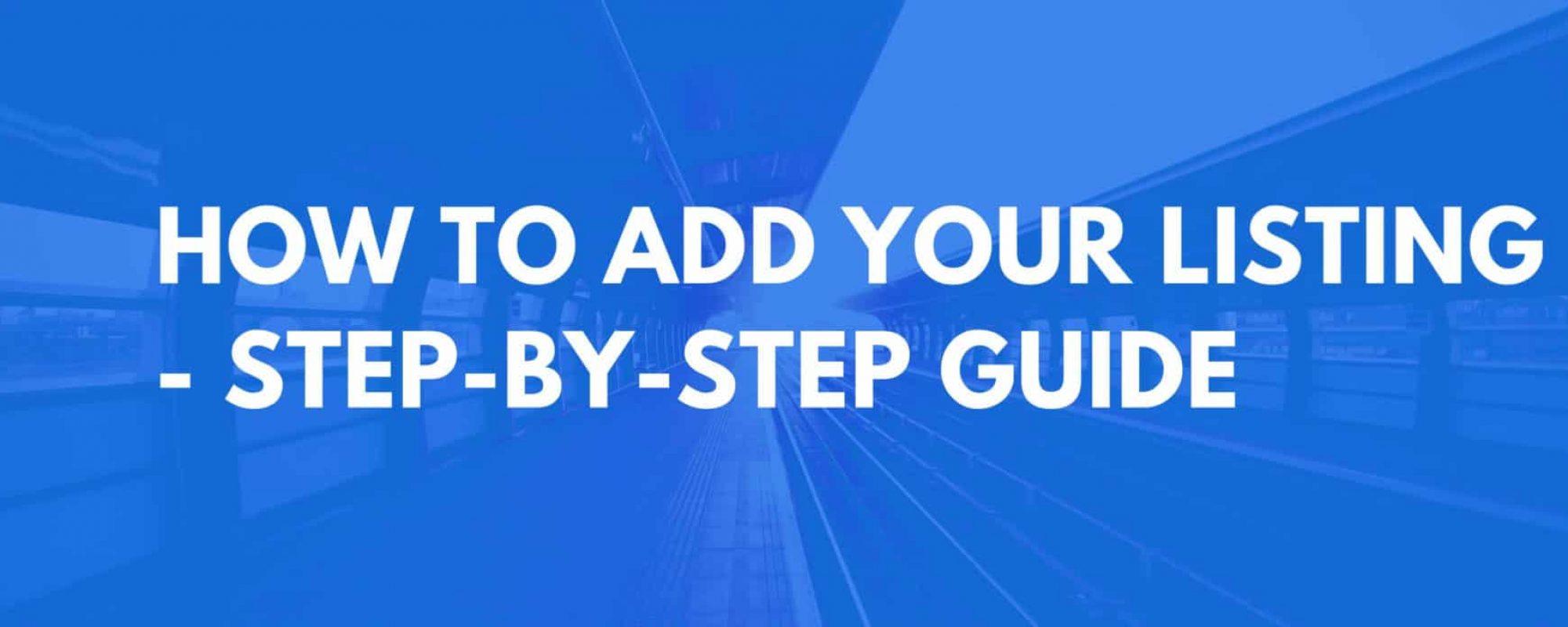add listing guide